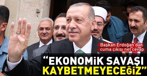 Başkan Erdoğan'dan döviz açıklaması
