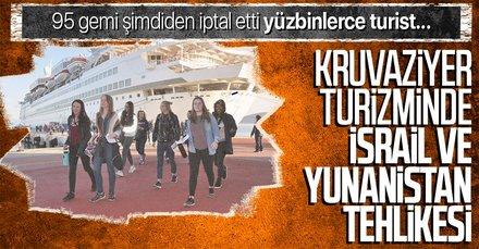Kruvaziyer turizmi rakip ülkelerin kıskacında! 95 gemi Türkiye'den rotayı çıkardı 232 bin turist gelmeyecek