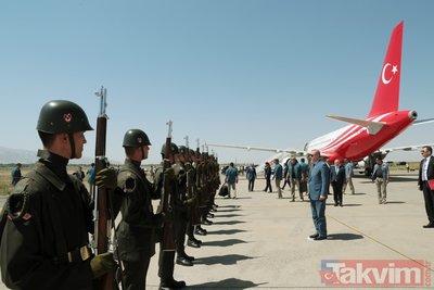 Başkan Erdoğandan Malazgirt Zaferi töreni öncesi anlamlı ziyaret