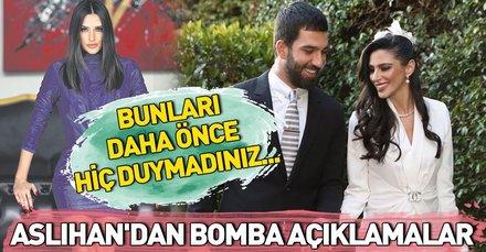 Arda Turan'ın eşi ve oğlu Hamza Arda'nın annesi Aslıhan Doğan Turan'dan çarpıcı açıklamalar
