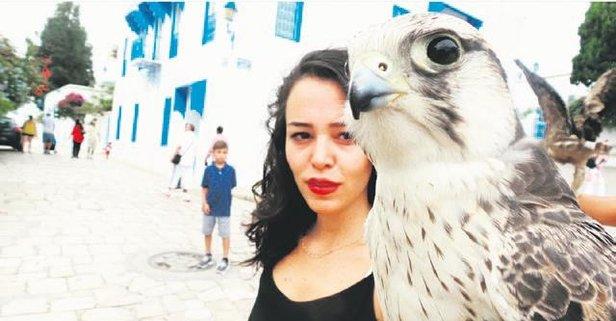 Tunus'ta sanat yaptı