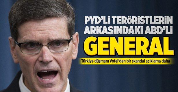 PYDli teröristlerin arkasındaki ABDli general