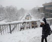 Meteoroloji'den İstanbul için kar uyarısı!