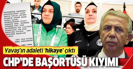 CHP'li Mansur Yavaş'tan başörtüsü kıyımı! Antrenör ve yardımcısını kovdu