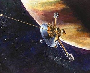 Voyager 2 ilk mesajını Dünya'ya gönderdi