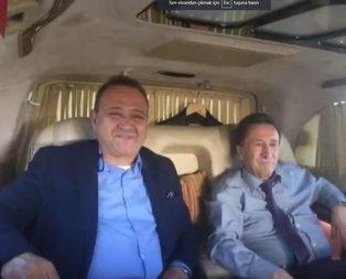 CHPli Başkan Kamil Saka makam aracında alkol sefası yaptı!