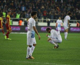 Trabzonspor yine kayıplarda