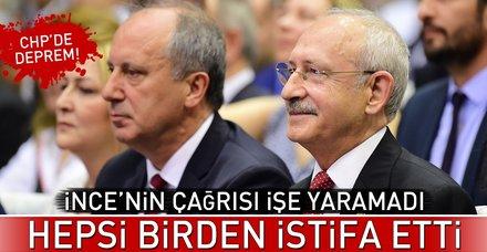 Son dakika: CHP Kandıra ilçe örgütü istifa etti