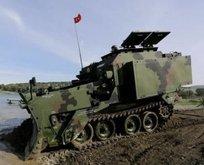 Askerlerin elindeki dev milli zırhlı dozer: AZMİM! İlk ihracat o ülkeye!