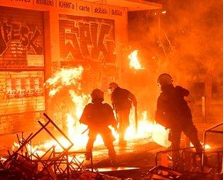 Yunanistan yangın yeri