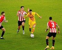 Messi çift tıkladı