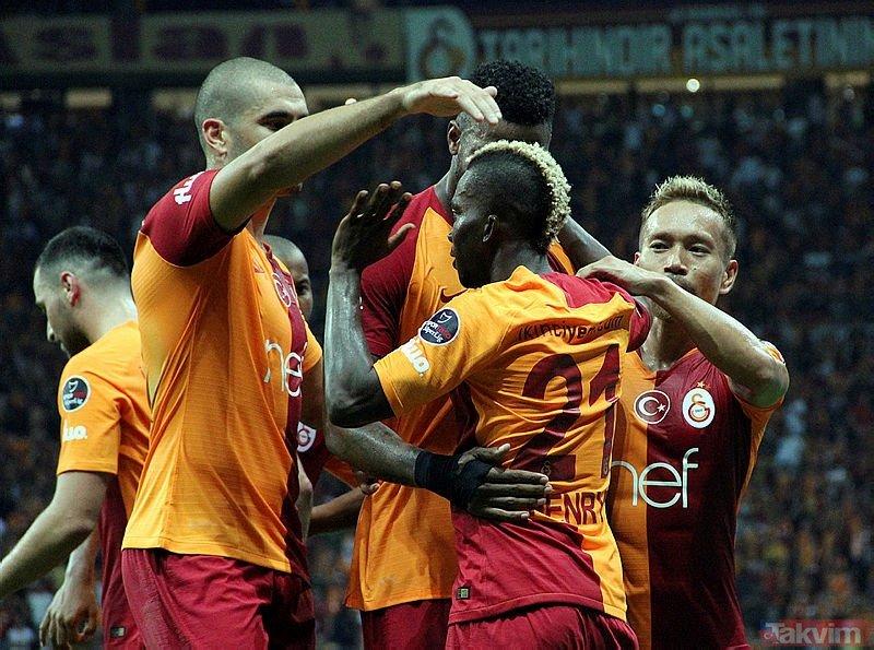 Fatih Terimden büyük revizyon! İşte Galatasarayın yeni 11i