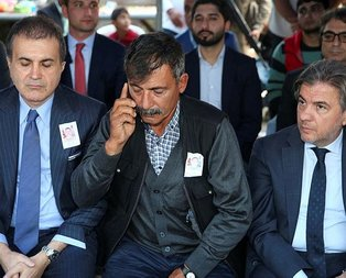 Başkan Erdoğan'dan şehit babasına taziye telefonu