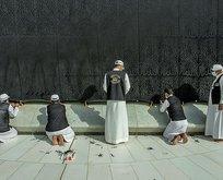 Kabe'de Ramazan hazırlığı: Korona tedbirleri üst seviyede