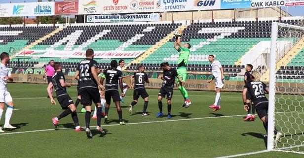 MAÇ SONUCU   Denizlispor - Konyaspor 0-0 - Takvim