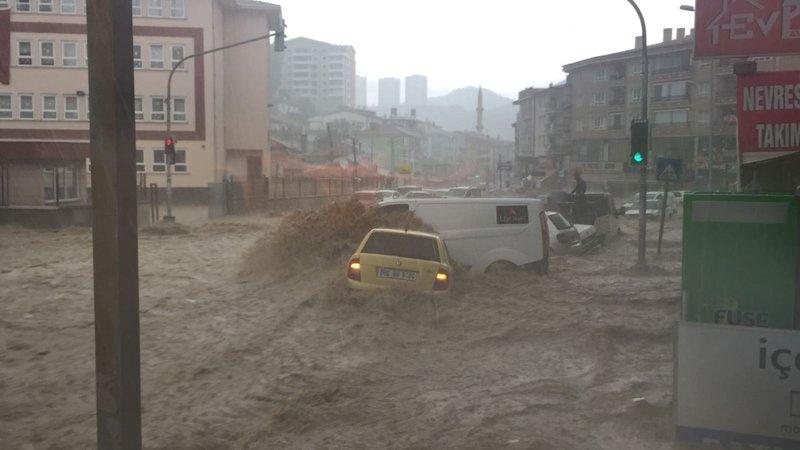 Ankara'da sel baskını