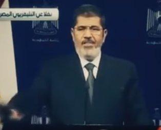 Mursi'nin hafızalardan silinmeyen konuşması