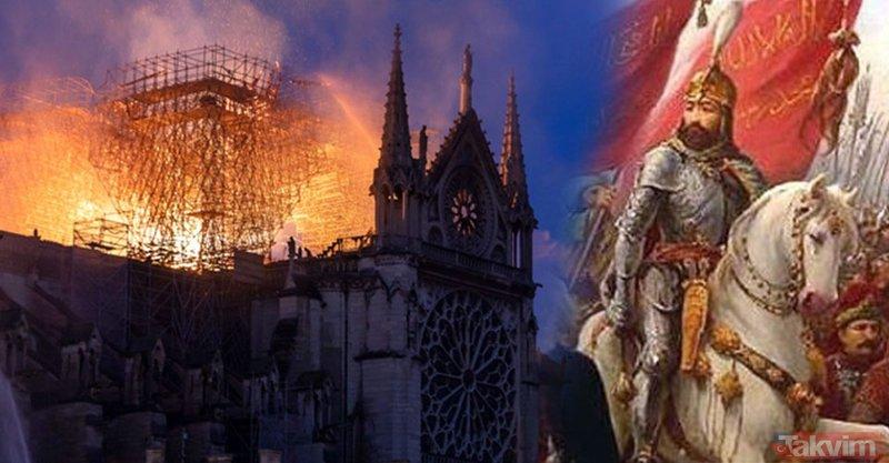 Fatih Sultan Mehmed'in Notre Dame planı ortaya çıktı! 'Kızıl Elma'sı...