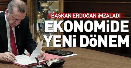 Başkan Erdoğan onayladı, Orta Vadeli Mali Plan Resmi Gazete'de yayımlandı