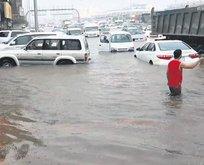 Riyad'da sel felaketi