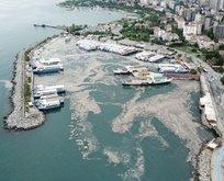 Deniz salyası İstanbul'un içine kadar girdi