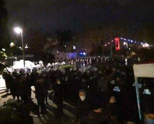 Son dakika: Provokatörlerden Boğaziçi Üniversitesi'ne işgal girişimi