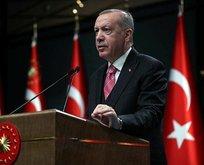 Erdoğan'dan önemli projelere ilişkin paylaşım!