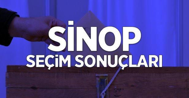 31 Mart Sinop yerel seçim sonuçları