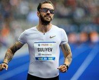 Ramil Guliyev yarışı ikinci sırada bitirdi