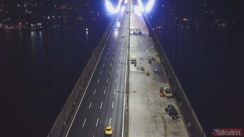 FSM Köprüsü´ndeki çalışmalar ne durumda? FSM Köprüsü ne zaman açılıyor?