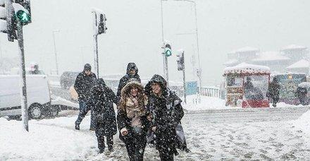 Meteoroloji'den İstanbul için son dakika uyarısı! Hafta sonu kar geliyor...