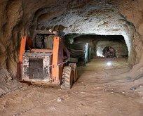 Teröristlerin Afrin merkezindeki tünelleri