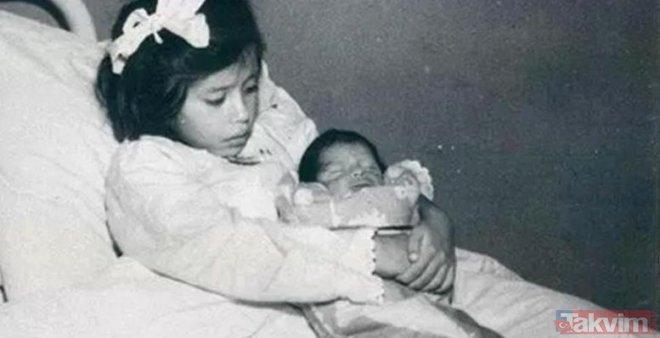 5 yaşında doğum yaptı! Görenler şaşkına döndü! İşte dünyanın en küçük annesi