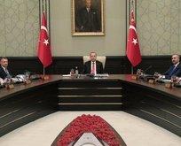 Ankara'da kritik zirve! Başkan Erdoğan liderliğinde toplandı