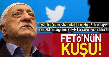 Twitterın Türkiye'den Sorumlu Kamu Politikaları Direktörü FETÖcü Balandı oldu!