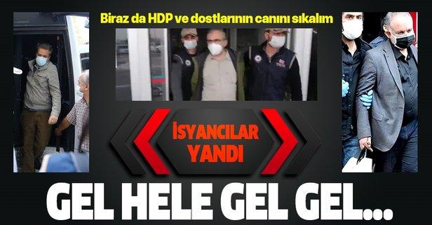 Kobani isyancıları yandı