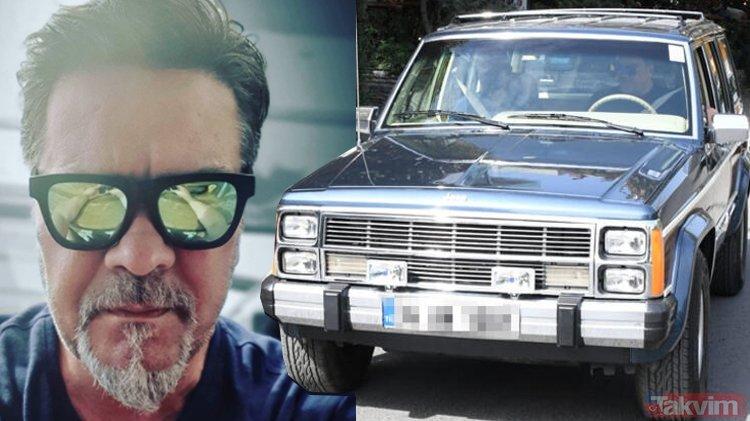 Beyazıt Öztürk eski bir cipte görüldü!  51 yaşındaki White'ın arabası ...