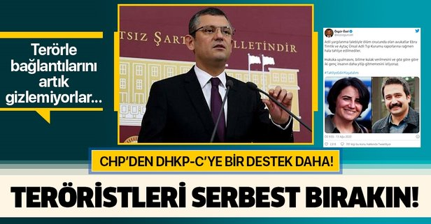 CHP'li Özgür Özel, teröristler için çağrı yaptı: Serbest bırakılsın!