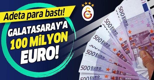 Galatasaray'a 100 milyon Euro