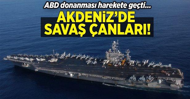 Akdenizde savaş çanları!