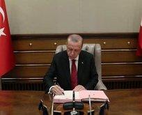 Başkan Erdoğan 9 üniversiteye yeni rektör atadı