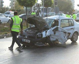 Sivas'ta korkunç kaza: 2 ölü, 2 yaralı