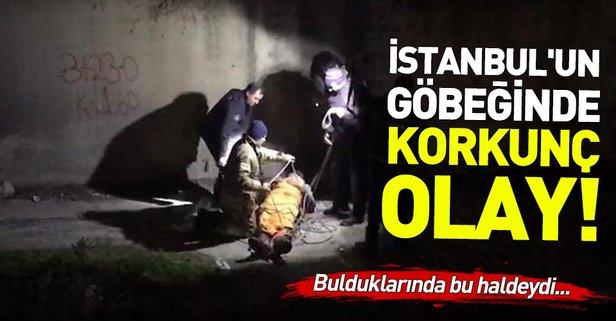 İstanbul'un göbeğinde korkunç olay!