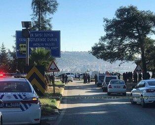 Antalya Emniyeti'ni sarsan intihar!