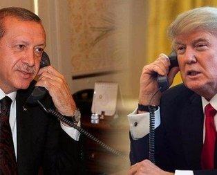 Başkan Erdoğan, Trump ile görüştü