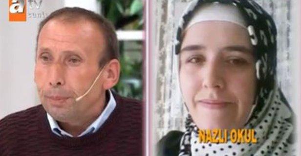 Şeref'in kayıp olan eşi Nazlı'yı Esra Erol buldu!
