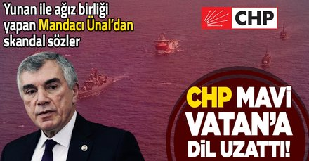 CHP'li Çeviköz'den skandal Mavi Vatan sözleri!