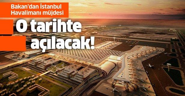 Hükümetten İstanbul Havalimanı müjdesi