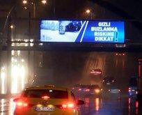 Ankara'da sağanak etkili oldu