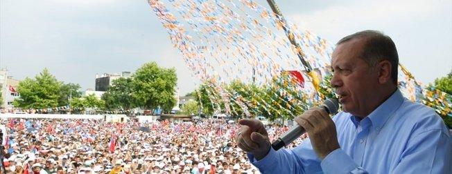 Sakarya'da Erdoğan coşkusu